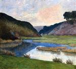 La Bretagne, vallee du Guilly, Moelan