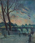 Au Bord de la Seine, le Soir
