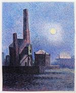 Factory by Moonlight