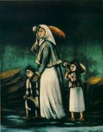 A Peasant Woman with Children Going to Fetch Water