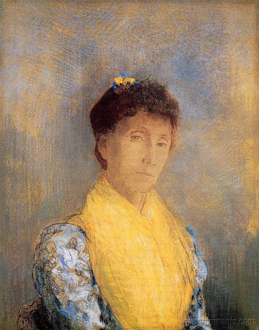Woman with a Yellow Bodice