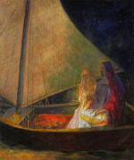 Boat with Two Figures