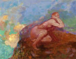 Nude Woman on the Rocks