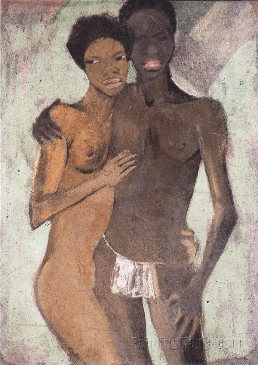 Negro Couple (Negerpaar)