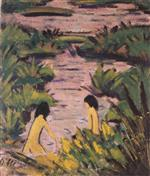 Bathers in Reeds