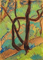 Forest Landscape (Waldlandschaft) 1926