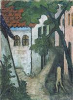 Gypsy Child in the Village (Zigeunerkind Im Dorf) 1929