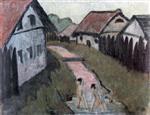 Gypsy Child in the Village (Zigeunerkind Im Dorf)