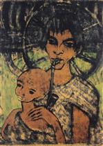 Gypsy Madonna (Zigeunermadonna) 2
