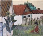 Gypsy Woman in the Garden (Zigeunerin Im Garten)