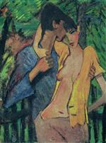 Lovers (The Artist and Irene Altmann)