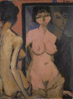 Nude with Self-Portrait before the Mirror