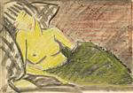 Sleeping Woman (Liegende Frau)