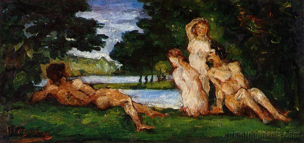 Bathers 1870