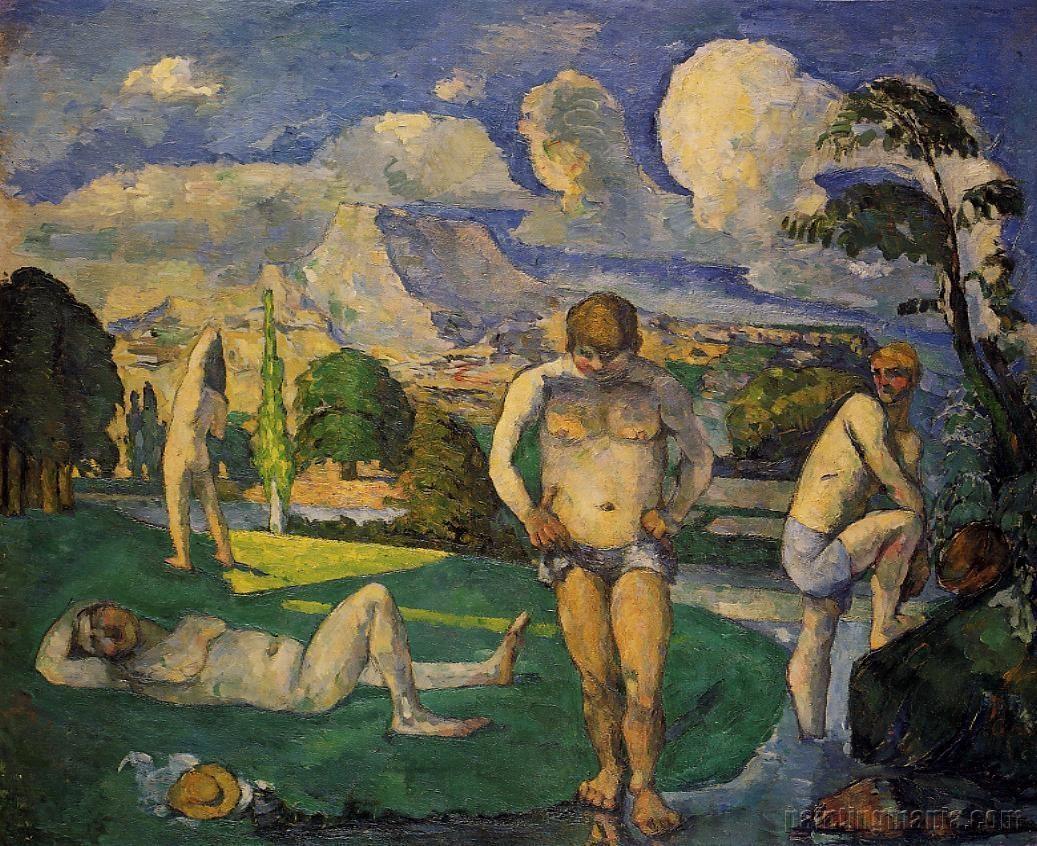 Bathers at Rest (Les baigneurs au repos)