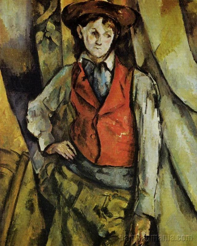 Boy in a Red Vest 1888-1890