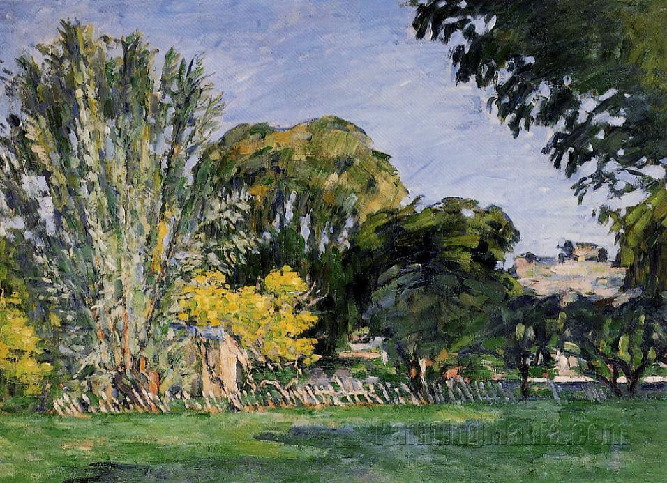Chestnut Trees at the Jas de Bouffan