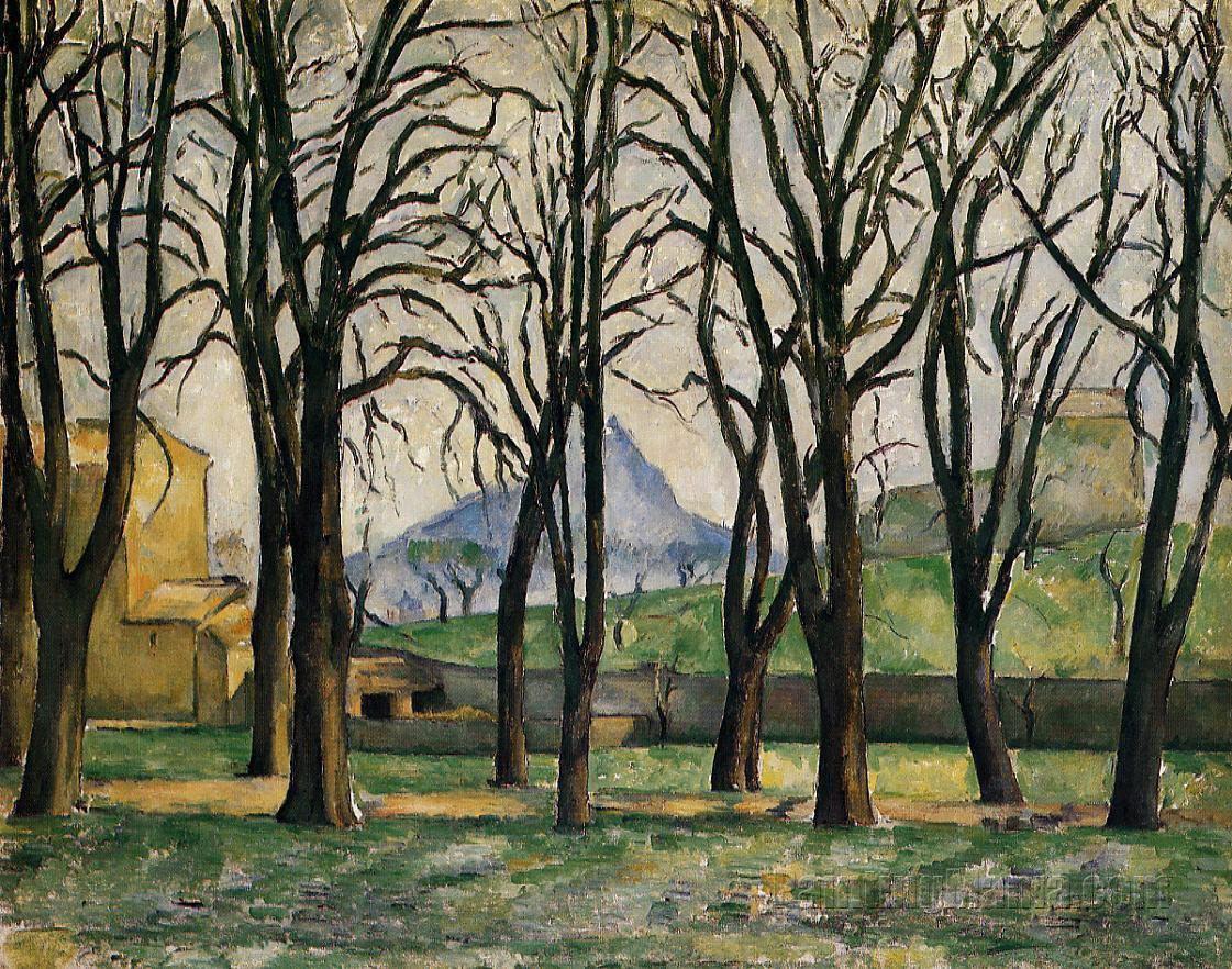 Chestnut Trees at the Jas de Bouffan 1885-1886