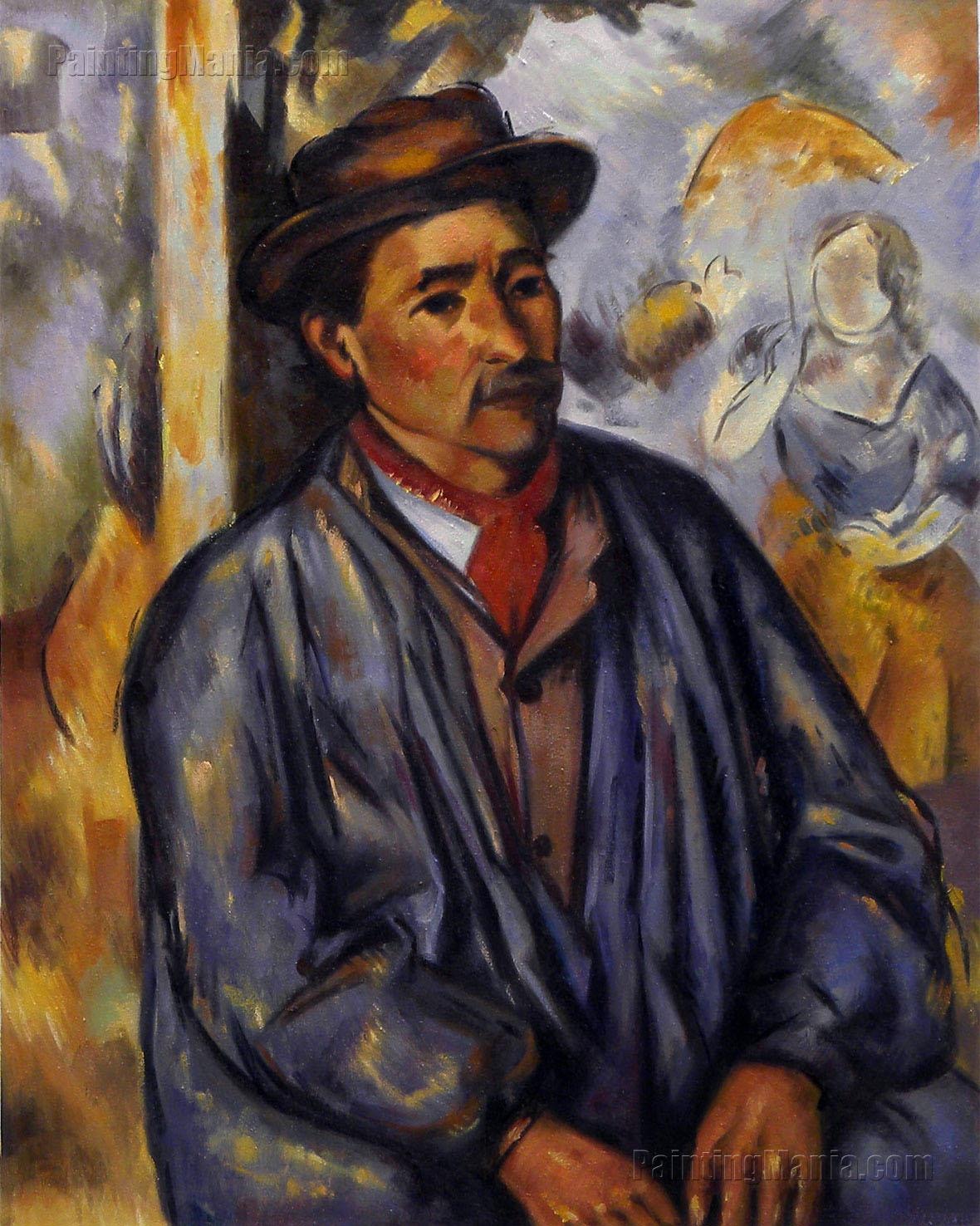 Peasant in a Blue Smock