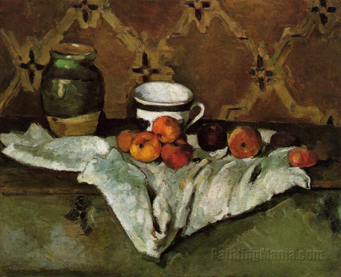 the life and arts of paul cezanne Still life with blue pot, paul cézanne, about 1900–1906  complex compositions , they demonstrate a spontaneous, exuberant side of his art.