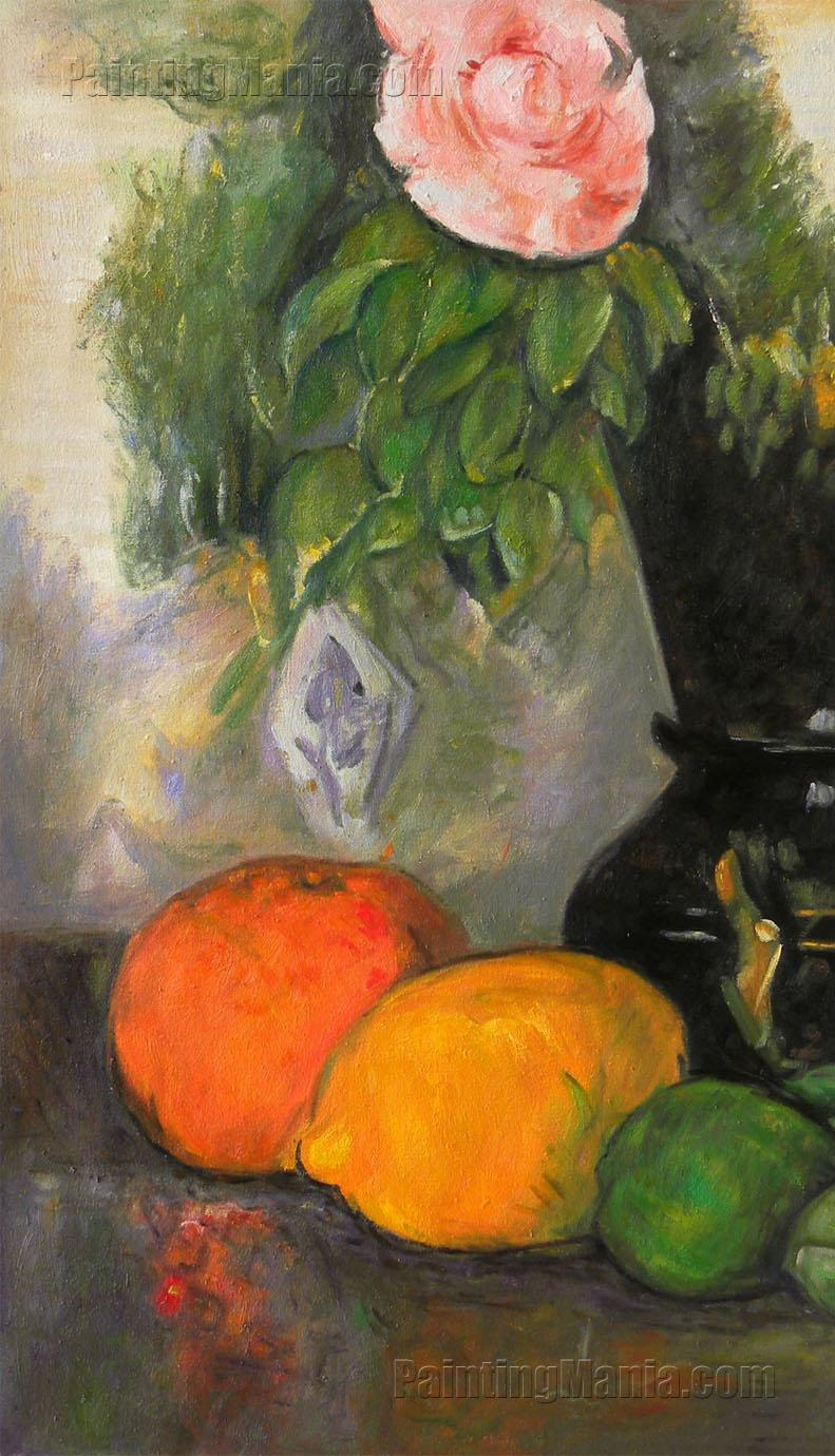 Flowers and Fruit - Paul Cezanne - 180.6KB