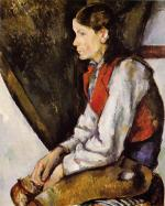 Boy in a Red Vest (1888-1890)
