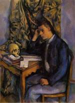 Boy with Skull