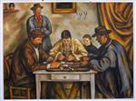 The Card Players (Barnes)