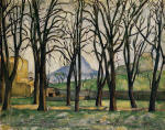 Chestnut Trees at the Jas de Bouffan 1885-1886