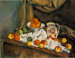 Fruit Bowl, Pitcher and Fruit