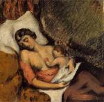 Hortense Breast Feeding Paul