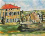 House and Farm at Jas de Bouffan