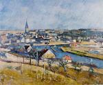 Ile de France Landscape 1879-1880