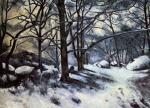 Melting Snow, Fontainbleau
