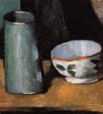 Still Life, Bowl and Milk Jug