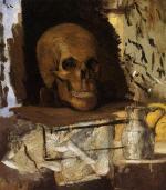 Still Life: Skull and Waterjug