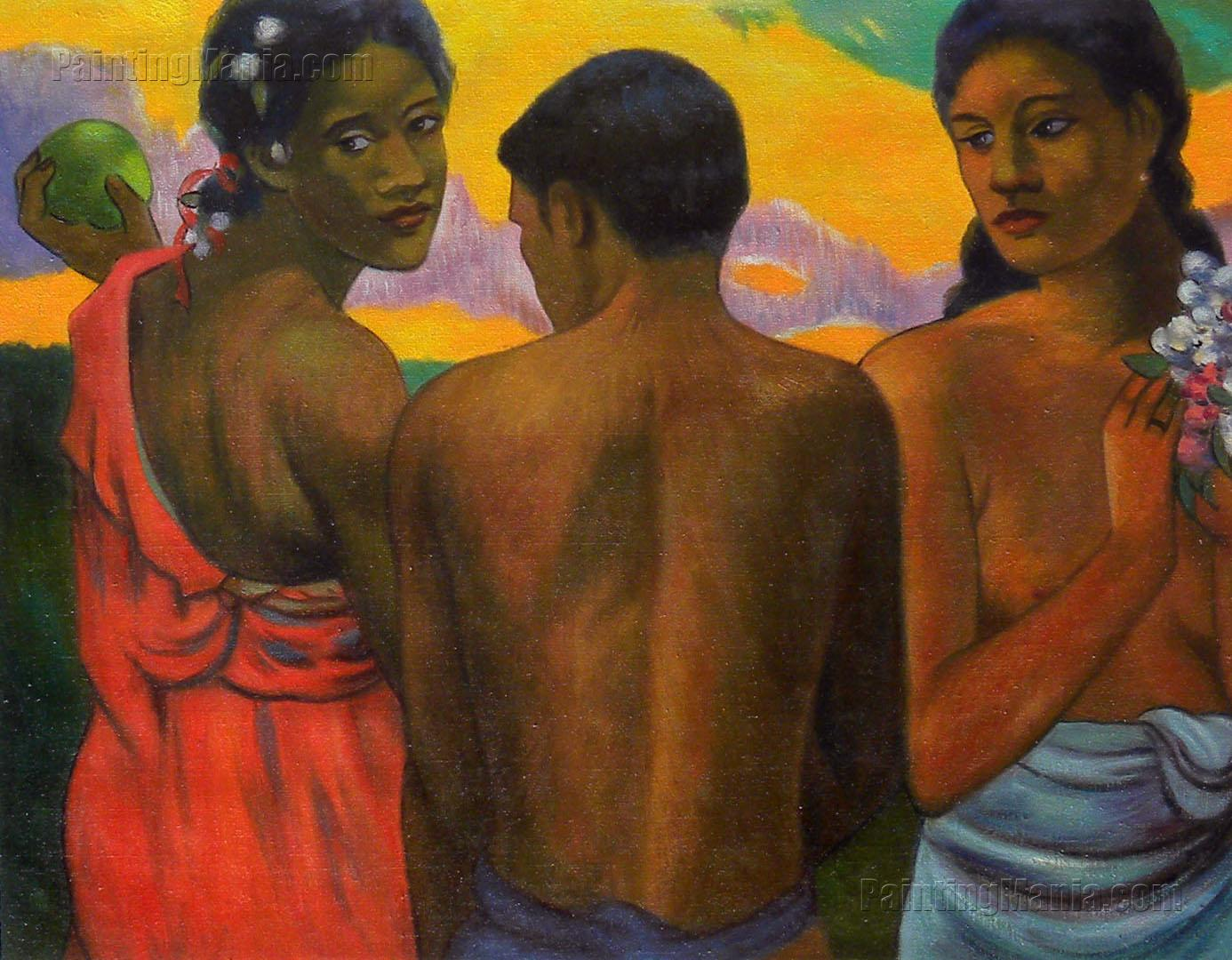 Three Tahitians