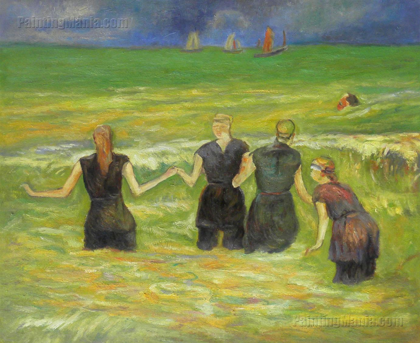 Women Bathing, Dieppe