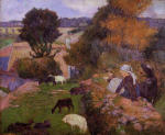 Breton Shepherdess