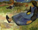 Seated Breton Girl