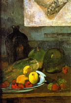 Still Life with Delacroix Drawing