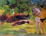 In the Vanilla Grove, Man and Horse (The Rendezvous)