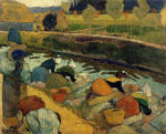 Washerwomen at the Roubine du Roi, Arles