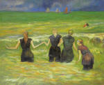 Women Bathing. Dieppe