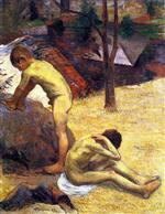 Young Breton Bathers