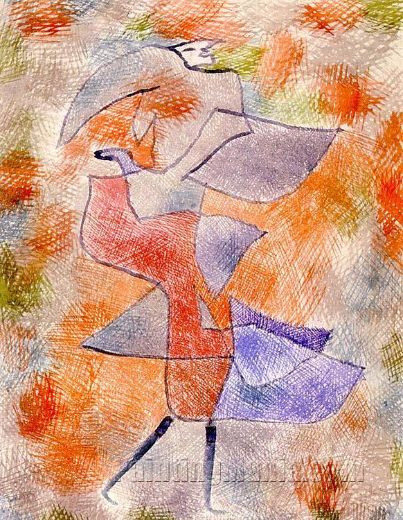 Diana in the Autumn Wind