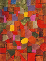Mural From The Temple Of Longing Paul Klee Paintings