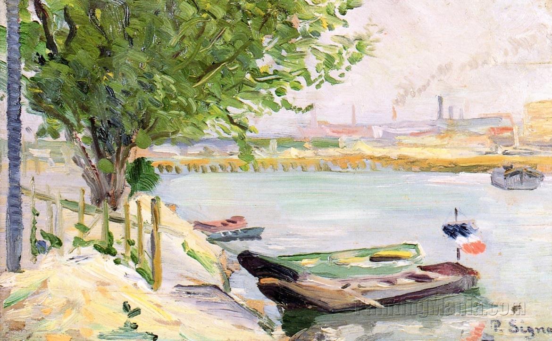 Asnieres (The Ferryman's Boat)