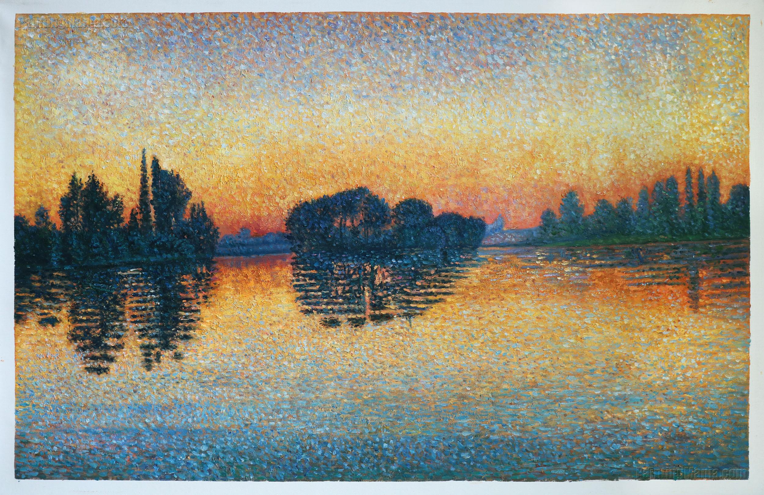 Sunset, Herblay, Opus 206