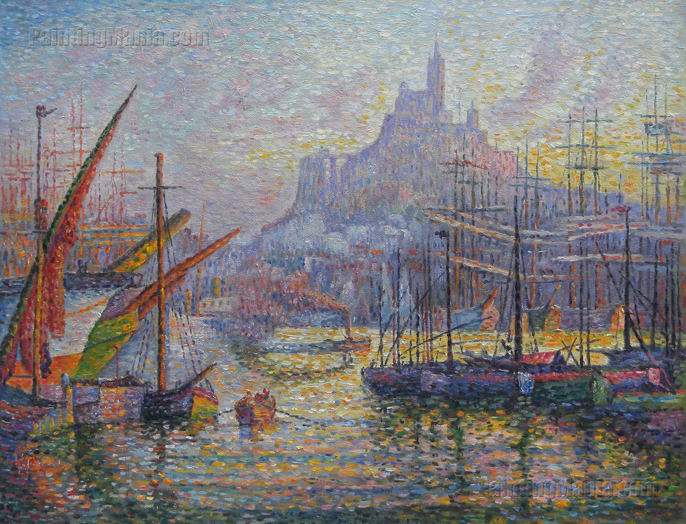 View of the Port of Marseille